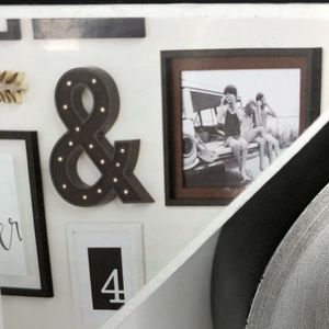 Ampersand Wall Art - Ampersand Symbol & Sign Marquee Wall Art Plaque NE